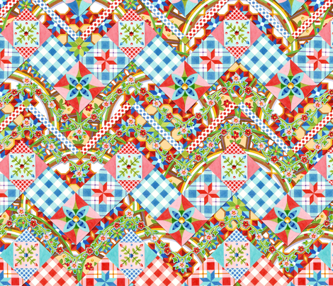 Design Confections II fabric by patriciasheadesigns on Spoonflower - custom fabric
