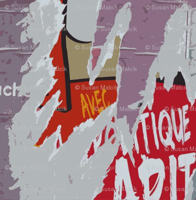 Torn Poster 2+, Paris