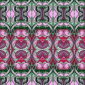 Nouveau Bijou (pink/green)