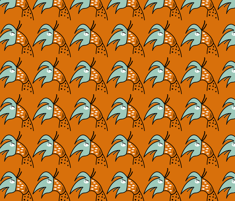 Singing Bird fabric by melissamarie on Spoonflower - custom fabric