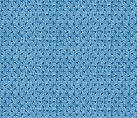 Double Blue Ovals final fabric by the_cornish_crone on Spoonflower - custom fabric