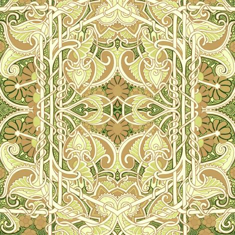 Formal Gardening fabric by edsel2084 on Spoonflower - custom fabric