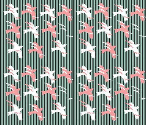 birds fabric by kortnee on Spoonflower - custom fabric