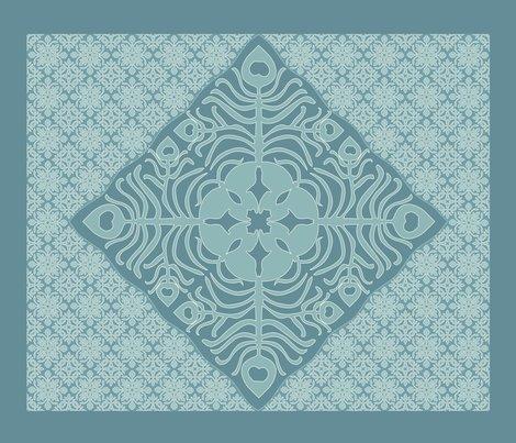 Rrpeacock_feather_butterfly_hawaiian_quilt3_marine-blue_aqua-revise-dk_shop_preview