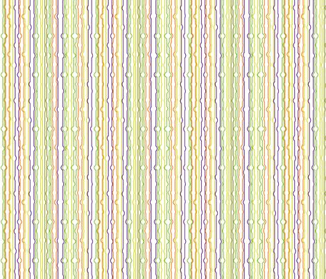Halloween Stripes fabric by mainsail_studio on Spoonflower - custom fabric