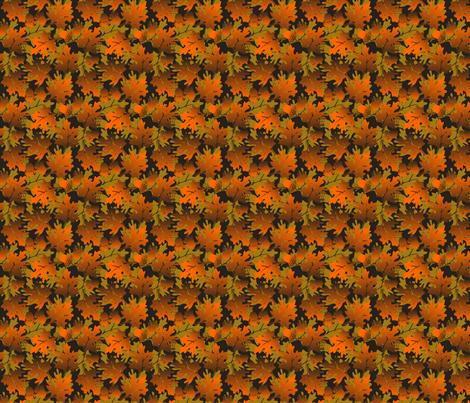©2011 Autumn Delight fabric by glimmericks on Spoonflower - custom fabric