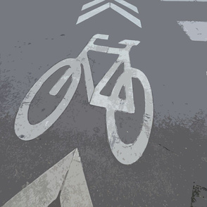 Bike Lane, Paris, France