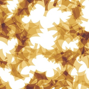 GOLDEN PUZZLE LEAVES