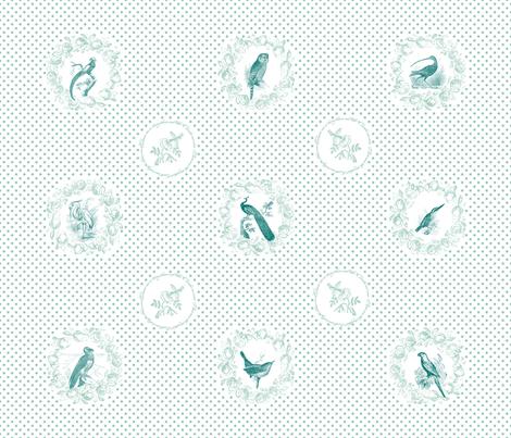 Bird Parliament fabric by annaoni on Spoonflower - custom fabric