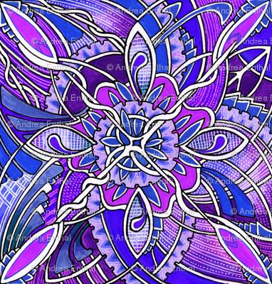 Diamond Vine (purple)