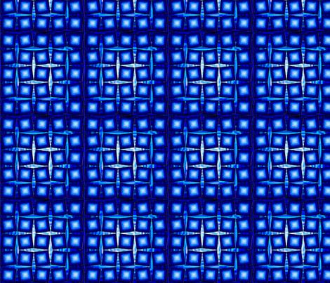 brick_midnight_electric_ice_brick fabric by pd_frasure on Spoonflower - custom fabric