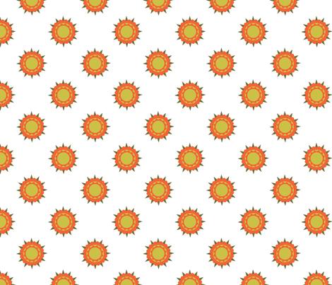 Autumn Beauty Print fabric by brandymiller on Spoonflower - custom fabric
