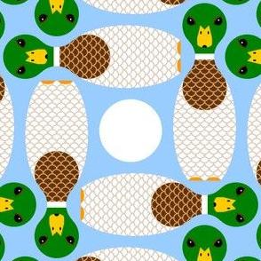 00736916 : duckpinwheel : mallard