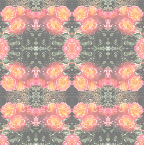 stained_glass_roses fabric by maga2mars on Spoonflower - custom fabric