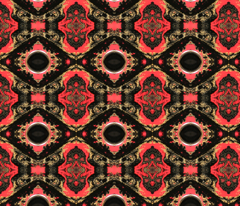Carrie's Amflite Ball fabric by relative_of_otis on Spoonflower - custom fabric