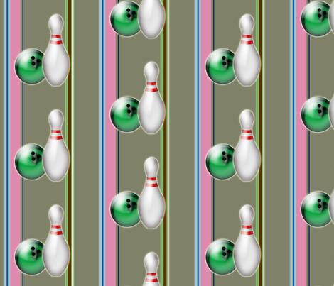 BowlingPat fabric by danielapuliti on Spoonflower - custom fabric
