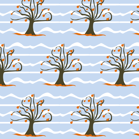 Falling fabric by ninjaauntsdesigns on Spoonflower - custom fabric