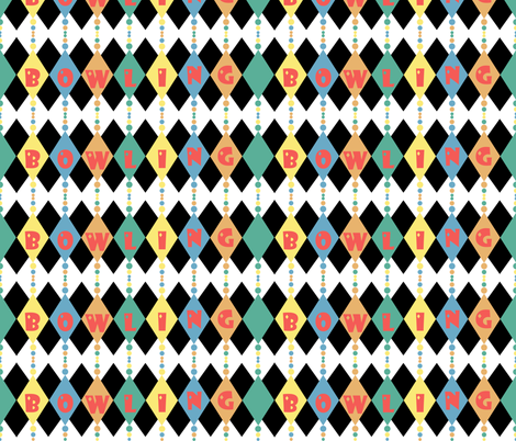 I feel like a game of pins, don't you? fabric by vo_aka_virginiao on Spoonflower - custom fabric