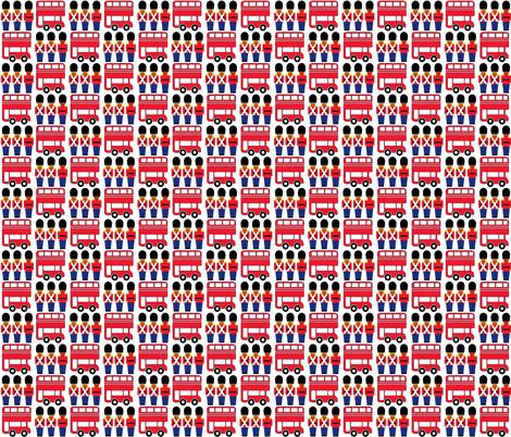 london fabric by aliceapple on Spoonflower - custom fabric