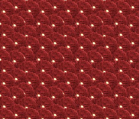 Burgundy Dahlia fabric by pond_ripple on Spoonflower - custom fabric