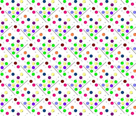 Alpha Bowling fabric by annalisa222 on Spoonflower - custom fabric