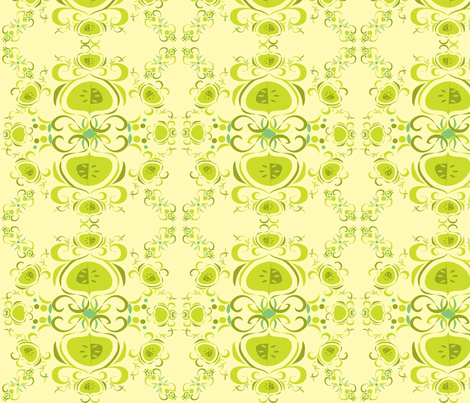 Fruit & Seeds fabric by linda_santell on Spoonflower - custom fabric