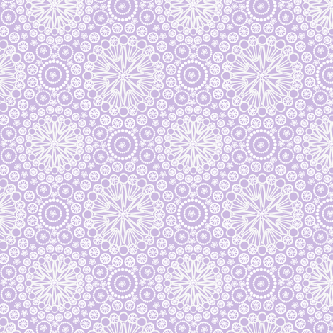 Lace Periwinkle fabric by glimmericks on Spoonflower - custom fabric