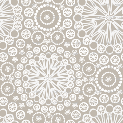 Lace Taupe