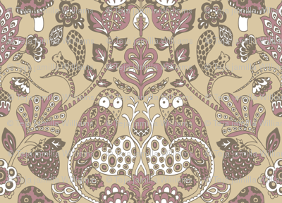 Autumn_Damask_Brown___Purple_by_Teja_Williams