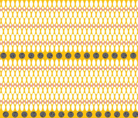 Bowling fabric by ghennah on Spoonflower - custom fabric