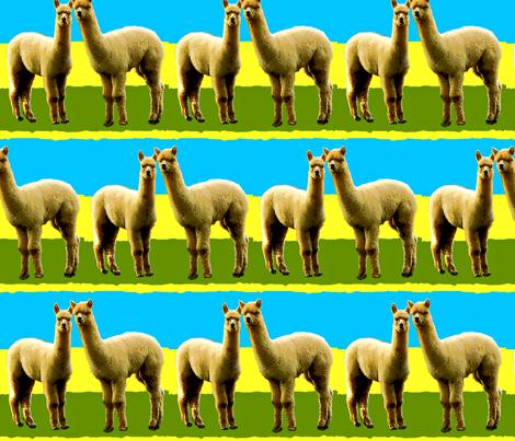 Llama Llove II fabric by robin_rice on Spoonflower - custom fabric