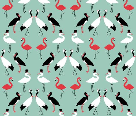 Gentlebirds fabric by shirayukin on Spoonflower - custom fabric