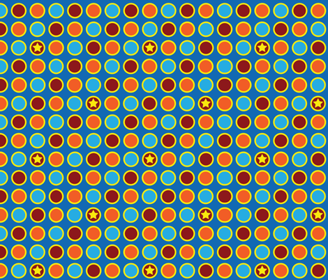 Circus Polka Dots fabric by robyriker on Spoonflower - custom fabric