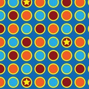 Circus Polka Dots