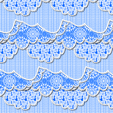 A Beautiful Day for a Picnic fabric by glimmericks on Spoonflower - custom fabric