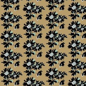 kahki floral