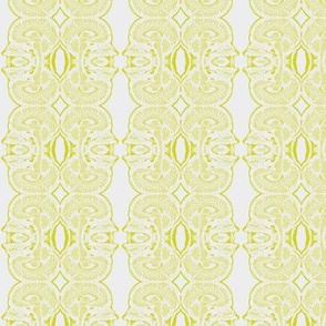 Little Brains in Ivory and Chartreuse