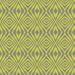 Organic Diamond Grey and Yellow