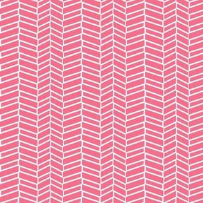 Assymetrical Herringbone / Coral