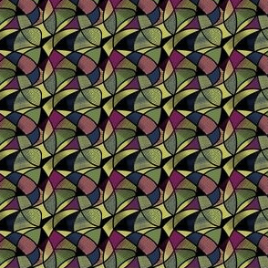Abstract Stained-glass