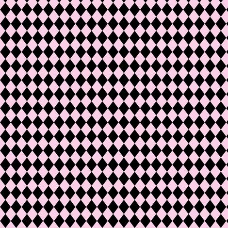 Circus Pink Harlequin Diamonds fabric by beesocks on Spoonflower - custom fabric