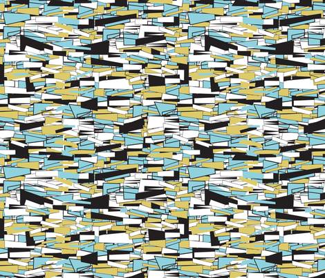Bug Blocks fabric by gsonge on Spoonflower - custom fabric