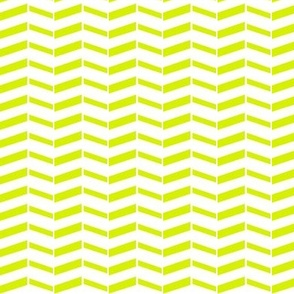 Broken Chevron / Lime