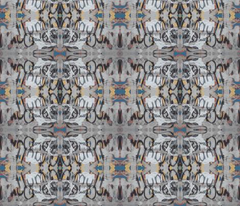 """Say """"Ah"""" / Loop-de-loop fabric by relative_of_otis on Spoonflower - custom fabric"""