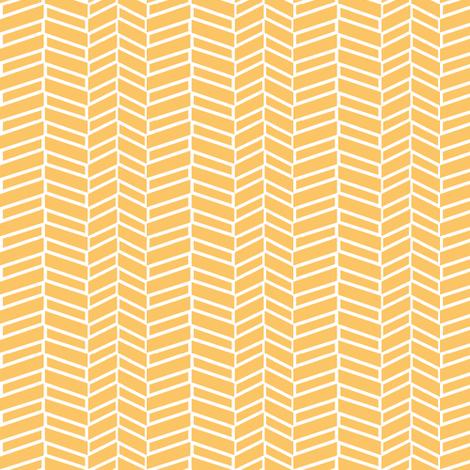 Assymetrical Herringbone / Tangerine fabric by mjdesigns on Spoonflower - custom fabric