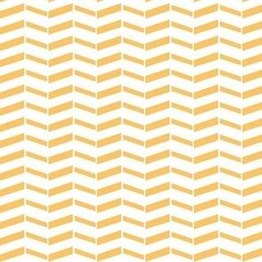 Broken Chevron / Tangerine