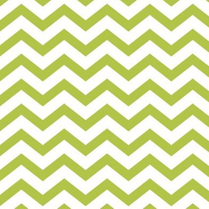 chevron lime green