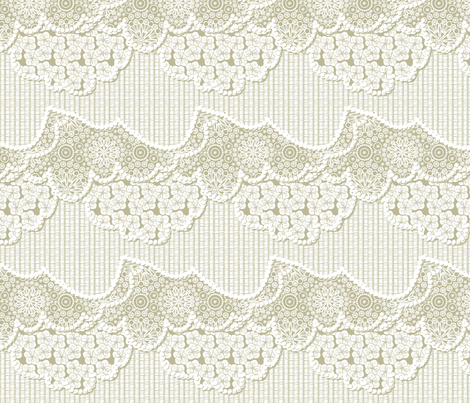 A Beautiful Day for a Picnic - Sandy Beach fabric by glimmericks on Spoonflower - custom fabric