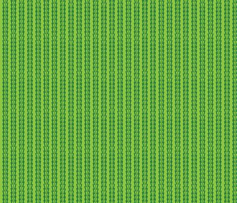 green_on_green_wacky_stripes fabric by gsonge on Spoonflower - custom fabric