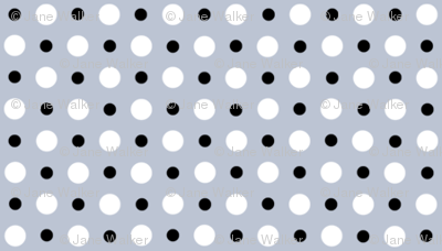 My Garden Dots Coordinate Grey ©2011 by Jane Walker